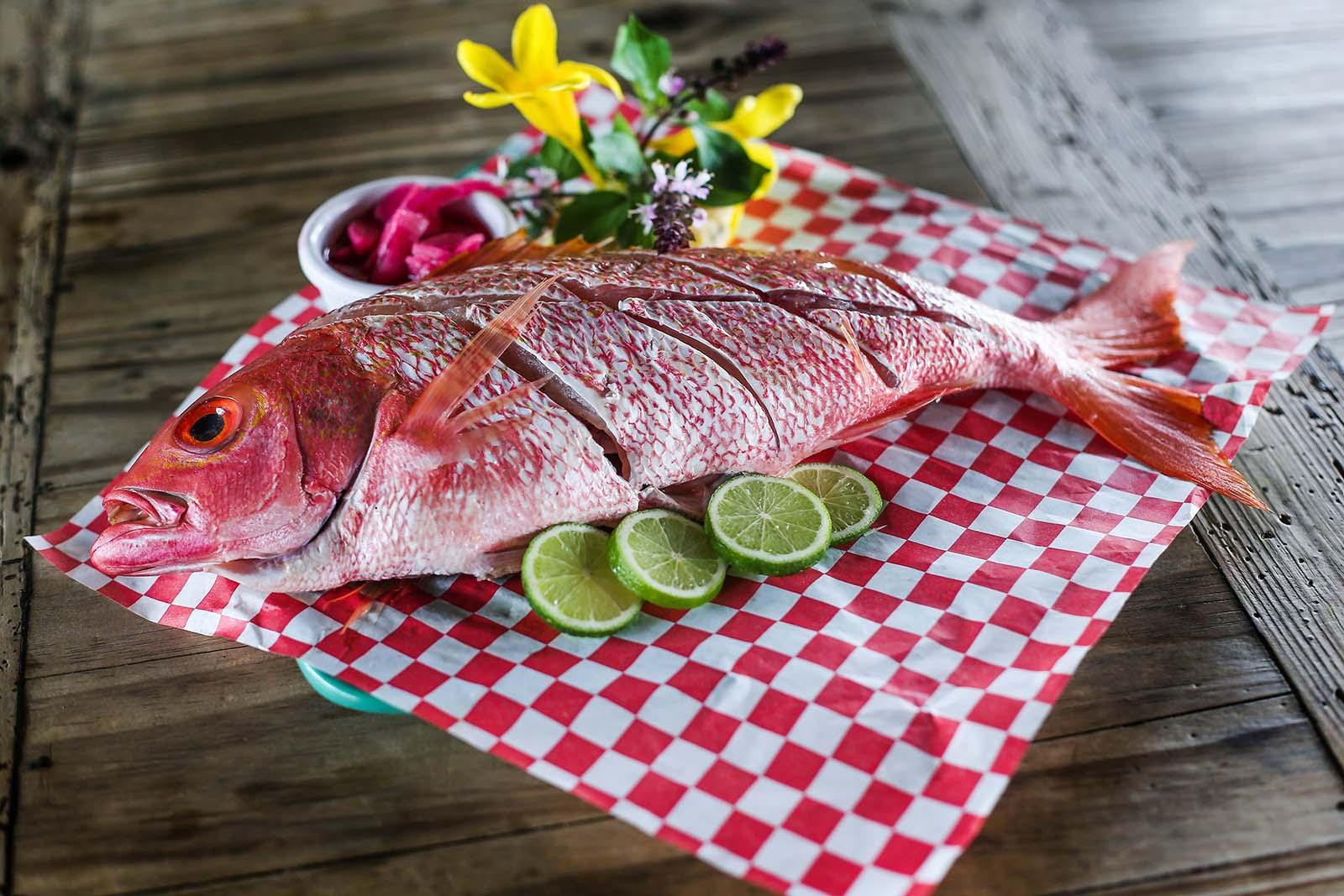 1 lb fresh shrimp red fish aruba restaurant for 95 9 the fish