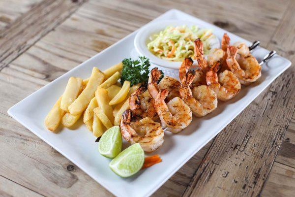 Fresh Shrimp on the Grill